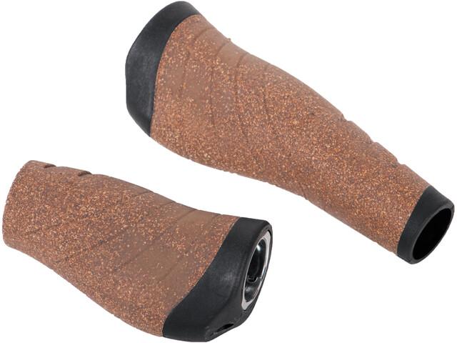 Mounty Wing-Grips Cork SF Grips, black/cork